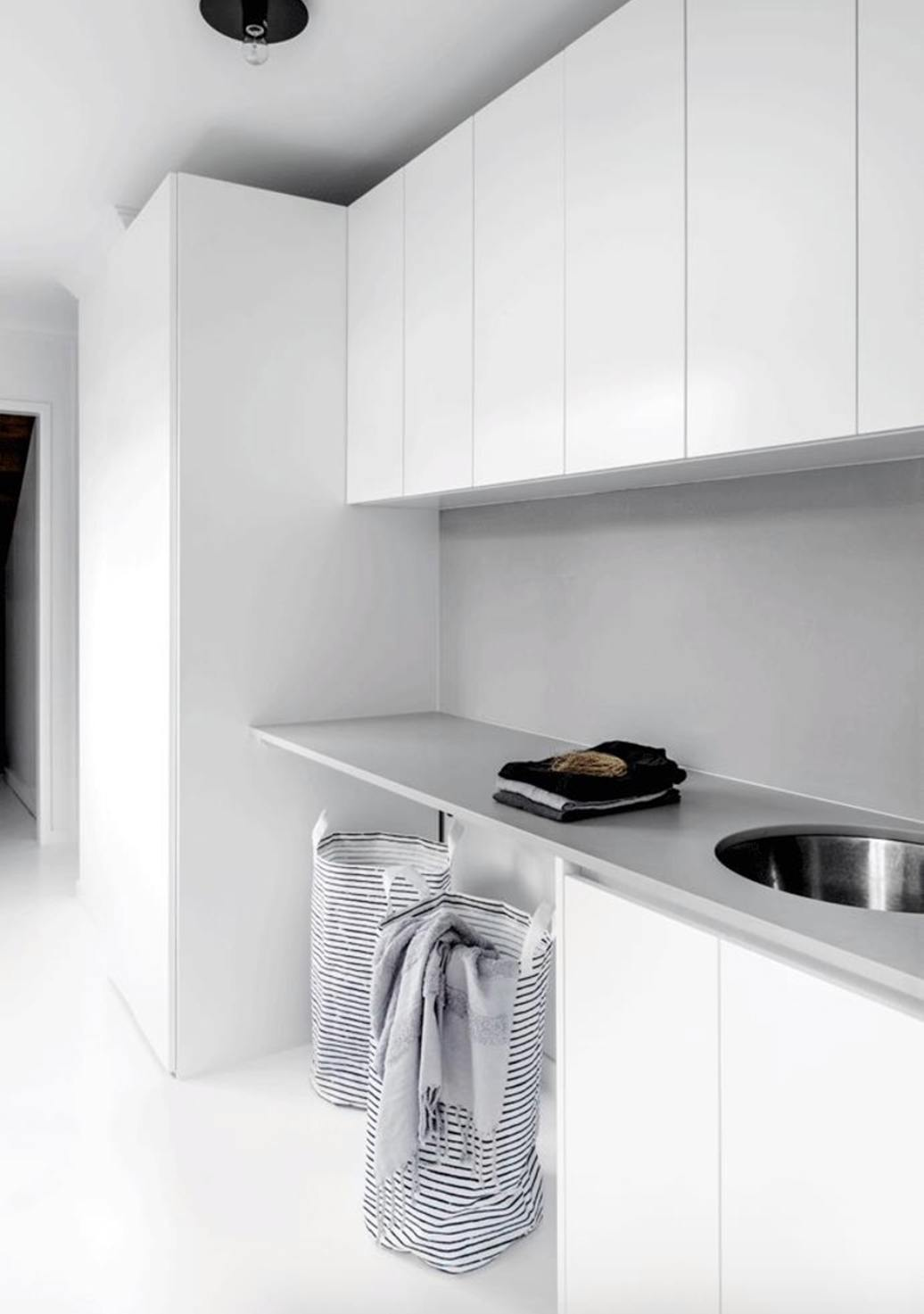 interior, design, kitchen, contemporary, white, renovation