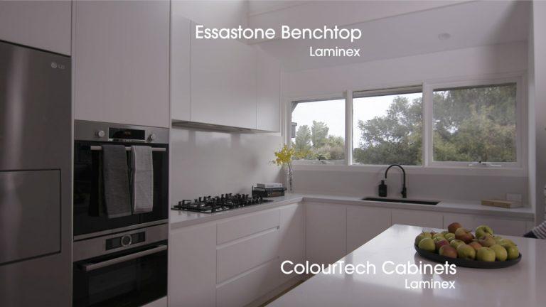 Contemporary Kitchen in fresh white